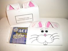 popping by to wish you a happy easter! Would be a cute gift to mail