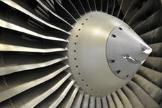 Up close with #engine fan blades! Shot taken at #GE #Aviation facility in Celma, Brazil.