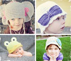 $5 Crochet Hat Patterns - You Pick 2! at VeryJane.com