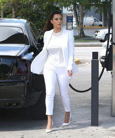 Las celebrities ya lucen LA tendencia del próximo verano. Kim Kardashian