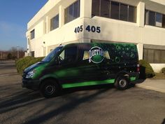 Perrier Vehicle Wrap