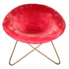 Jean Royere, Dore Bronze Wrought Iron chair, 1960.