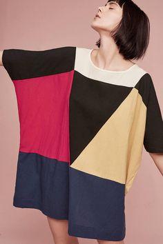 Uzi NYC Park Slope Printed Tunic Dress
