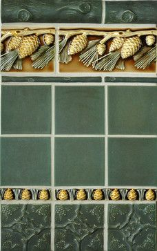 crafstman style bathrooms | Craftsman Style - craftsman - bathroom tile - portland - by Pratt and ...