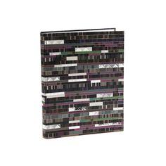 Notizbuch Factum in DIN A5 Einband: Naturpapier mit Silberprägung und Relief / 192 chamois Seiten, blanko / Größe: 11 x 15 cm