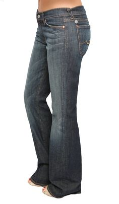 Seven For All Mankind - Kaylie Bootcut in New York Dark