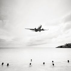 Jet Airliner #60 Continental Airlines Boeing 737-700 Arriving from Newark, NJ by Josef Hoflehner