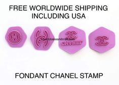 Chanelcupcake Chanelcookies Chanelembosser Chanelfondant Chanelsugarpaste Chanelgumpaste CHANEL cake stamp CHANEL cookies stamp CC LOGO Designer Best Picture For Cake Design girly For Your Taste You a Chanel Cookies, Chanel Cupcakes, Chanel Cake, Chanel Party, Cake Decorating Books, Baby Mold, Baby Cake Topper, Cake Toppers, Cupcake Mold