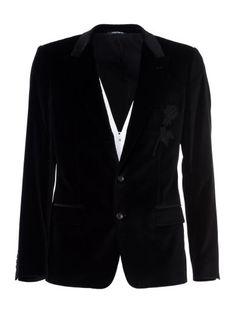 Dolce & Gabbana Velvet Jacket, Black