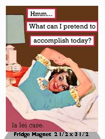 Hmm… What can I pretend to accomplish today?