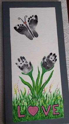 Hands & Footprints Idea