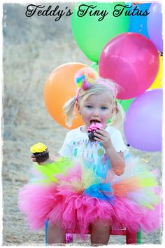 Birthday Tutu Outfit Personalized Birthday by PansyPieBoutique, $49.99