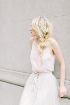 LC Lauren Conrad Tank and Tulle Skirt Styled by Sunkissed and Madeup Lauren Conrad Celebrate, Lc Lauren Conrad, Daily Beauty Routine, Beauty Routines, Ballet Inspired Fashion, Wispy Bangs, Pigtail Braids, Party Looks, Playing Dress Up