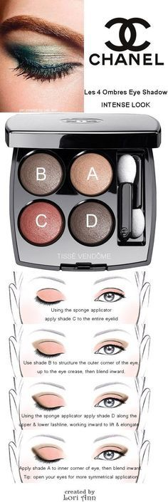 Chanel Les 4 Ombres Eye Shadow Intense Look Tutorial