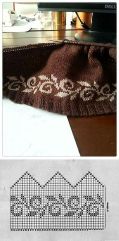 Knitting fair isle chart hats 24 Ideas for 2019 Fair Isle Knitting Patterns, Knitting Charts, Knitting Stitches, Knitting Designs, Knit Patterns, Knitting Projects, Baby Knitting, Stitch Patterns, Fair Isle Pattern