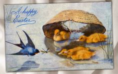 Nicecrane Designs: Easter & Vintage Criss Cross Cards And Children with Dogs