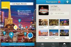 Maratona de compras e check-ins em Las Vegas.