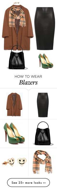 """""""Elsa"""" by xoxomuty on Polyvore featuring Zara, Dorothy Perkins, 3.1 Phillip Lim and Burberry"""