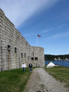 Fort Knox. Prospect, Maine