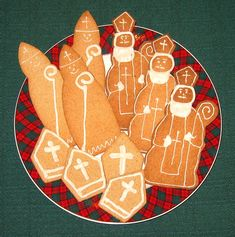 St Nicholas Cookies, cutters in our shop