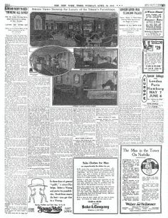 TimesMachine April 16, 1912 - New York Times