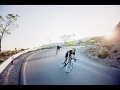 Relaxed spin up the Category 2 climb from Ugijar to Mairena with David G...