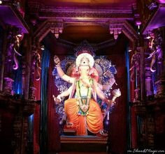A lane with different Ganesh Idol is situated near Lalbaug itself, which is also worshiped by many people.