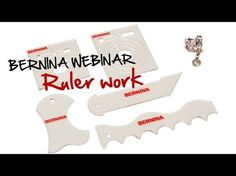 Tutorial: how to do ruler work with the BERNINA ruler foot no. 72 - YouTube