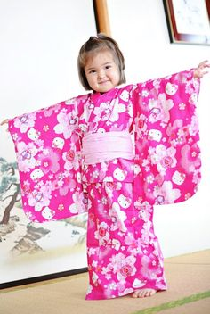 This is how happy I feel in my new yukata. I'm wearing mine for a summer bathrobe!
