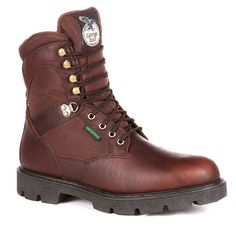 Georgia Boot Homeland Men's 8-in. Waterproof Insulated Work Boots, Size: