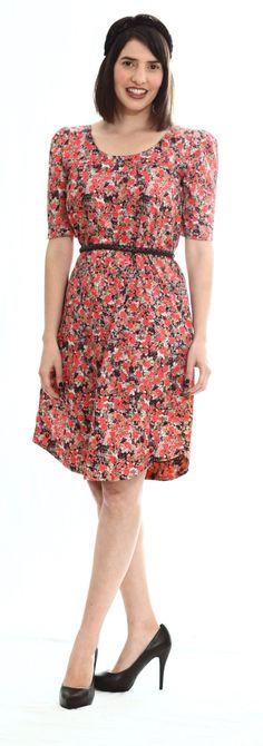 images of feminine dresses   floral dress, Modest chic, feminine dress, A - line dress,formal dress ...