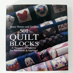 Quilt pattern quilting quilt quilt pattern book quilting book 501 quilt blocks from better homes and gardens vintage fandeluxe Image collections