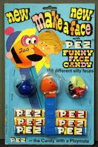 pez make a face