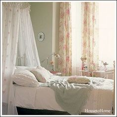 DIY:   Romantic Bedroom Decorating Ideas - link suggests furniture, bedding, pillows, etc. that you can add to get that romantic bedroom look.
