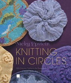 hand-made-knitting-crochet: Nicky Epstein. Knitting in Circles