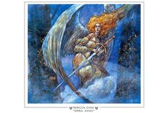 Serra Angel Magic The Gathering Prints - Rebecca Guay