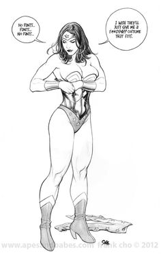 adamz3r0: geekearth: Frank Cho - Costume Sketch Humor (Mildly NSFW) Lol, perfect. The struggle is real. (via tom-aiac)