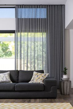 4 Marvelous Unique Ideas: Bamboo Blinds Living Room blinds for windows with curtains.Blinds For Windows Sliders dark blinds simple.Livingroom Blinds And Curtains. Curtains With Blinds, Sheers Curtains Living Room, Home Curtains, Ceiling Curtains, Stylish Curtains, Grey Curtains, Modern Curtains, Window Coverings, Ripplefold Draperies