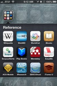 Mobile Apps for Searching the Scientific Literature