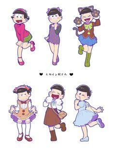 Osomatsu San Doujinshi, Ichimatsu, Cute Memes, Fanart, Anime Guys, Anime Characters, Chibi, Character Design, Geek Stuff