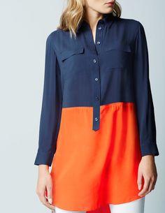 Modern Tunic Shirt WA665 Long Sleeved Tops at Boden