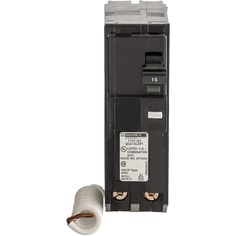 Square D by Schneider Electric QO 20 Amp in. Two-Pole CAFCI Circuit Breaker: QO 20 Amp two-pole combination AFCI circuit breaker Plug-on design, easy to install Compatible with QO load centers Rated 120 VAC and AIR ANSI certified and UL listed Electrical Shop, Electrical Breakers, Electrical Code, Electrical Equipment, Circuit, Natural Gas Water Heater, Plugs, Locker Storage, Amp