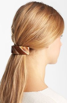 France Luxe 'Extra Volume' Barrette in ONYX available at #Nordstrom