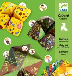 Fortune teller origami kit - great for 6 - 11 year olds.