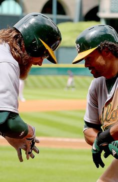 Josh Reddick and Coco Crisp