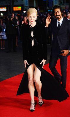 Nicole Kidman e Dev Patel lançam o filme 'Lion'durante a 60 edição do BFI London Film Festival (Foto: Getty Images)