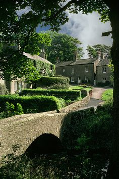 Clapham, Yorkshire. England, UK