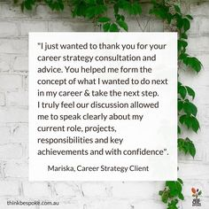 Career Strategy Client: Every now and then I work with clients who don't realise how hands.down.exceptional they are. When I first met Mariska she was considering career moves that were well below her worth. I'm very happy to report that after a few sessions with me spaced over 18 months she's now living the life she imagined in London (she's moved there with her partner from Melbourne) and pursuing a fabulous creative role on par with her worth. Sounds inspiring? Click on the link in my bio…
