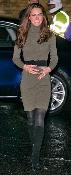 Duchess Catherine    Dress: Ralph Lauren