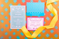 Fiesta wedding invites